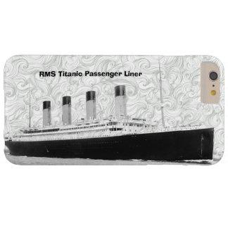 Trazador de líneas de pasajero titánico del RMS Funda Para iPhone 6 Plus Barely There