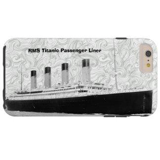 Trazador de líneas de pasajero titánico del RMS Funda Para iPhone 6 Plus Tough