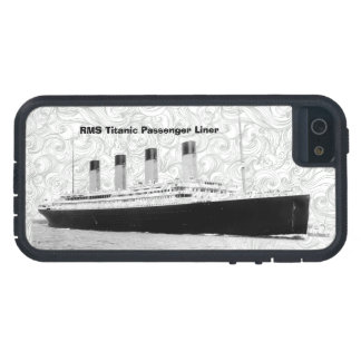 Trazador de líneas de pasajero titánico del RMS iPhone 5 Carcasa