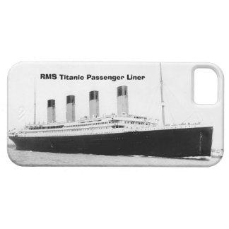 Trazador de líneas de pasajero titánico del RMS iPhone 5 Fundas