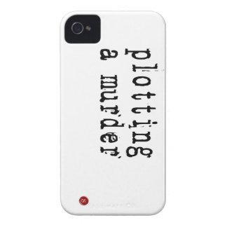 Trazar el caso 4s del iphone 4 de un escritor del iPhone 4 Case-Mate cárcasa