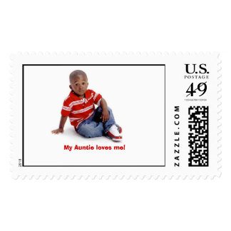 tre 9-14-06 2, My Auntie loves me! Stamp