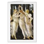 Tre Grazie (tres tolerancias), bella arte de Tarjeta Pequeña