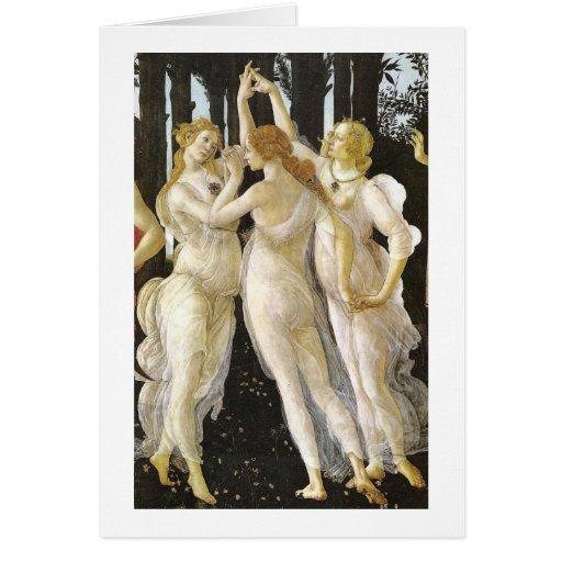 Tre Grazie (tres tolerancias), Sandro Botticelli Felicitacion