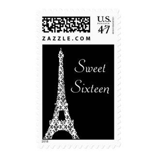 Tre Paris Sweet Sixteen Birthday Stamp