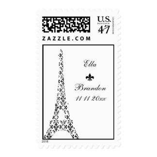 Tre Paris Wedding Stamp