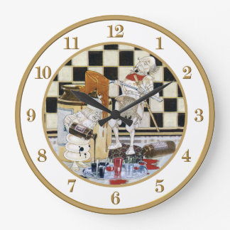 Treacle and Ink From Alice in Wonderland Large Clock