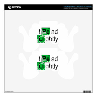 tread lightly T-Shirts.png Skins For PS3 Controllers