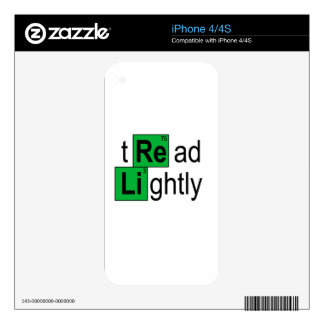 tread lightly T-Shirts.png Skins For The iPhone 4