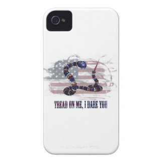 Tread on me, I dare you iPhone 4 Case-Mate Cases
