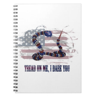 Tread on me, I dare you Notebook