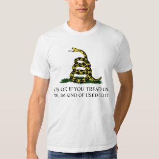 tread on me t-shirt