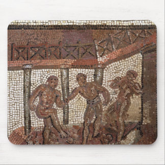 Treading grapes, from Saint-Roman-en-Gal Mouse Pad