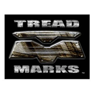 TreadMarks Logo Postcard