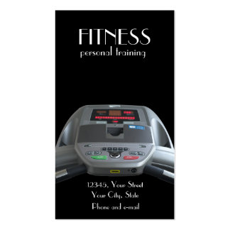 Treadmill Business Card Template