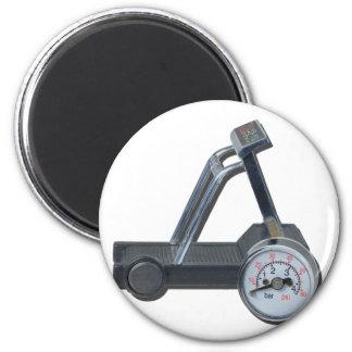 TreadmillWithPressureGauge062115 2 Inch Round Magnet