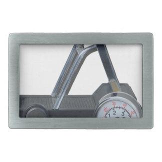 TreadmillWithPressureGauge062115 Hebillas Cinturón Rectangulares