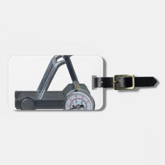 TreadmillWithPressureGauge062115 Luggage Tag