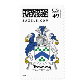 Treadway Family Crest Postage
