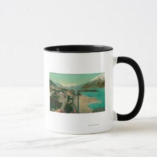 Treadwell, AK and Douglas City and Juneau in Mug