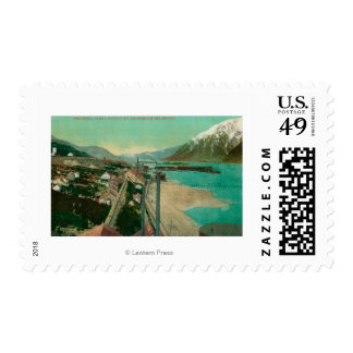 Treadwell, AK and Douglas City and Juneau in Postage