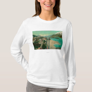 Treadwell, AK and Douglas City and Juneau in T-Shirt