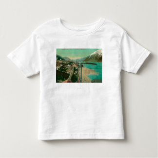 Treadwell, AK and Douglas City and Juneau in Toddler T-shirt