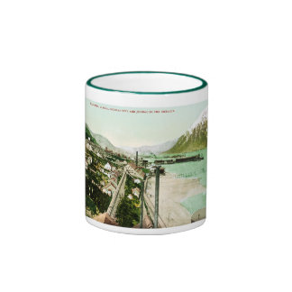 Treadwell, Alaska, Douglas City. and Juneau Ringer Coffee Mug