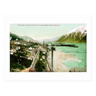 Treadwell, Alaska, Douglas City. and Juneau Postcard