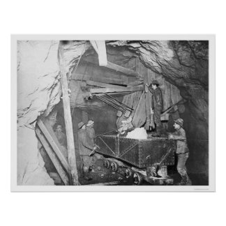 Treadwell Gold Mine Alaska 1916 Poster