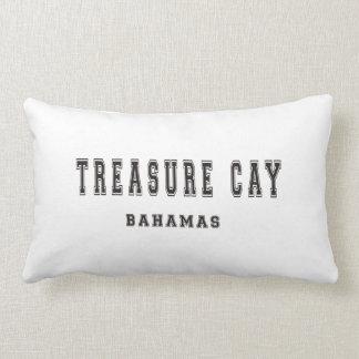 Treasure Cay Bahamas Lumbar Pillow