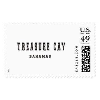 Treasure Cay Bahamas Postage