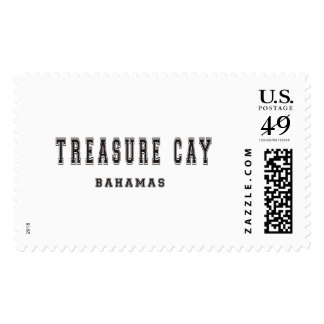 Treasure Cay Bahamas Postage Stamp