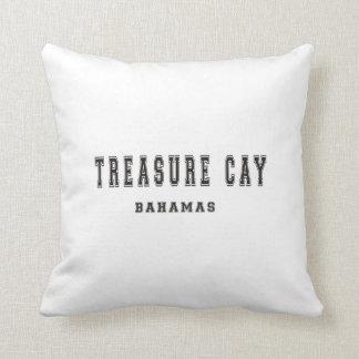 Treasure Cay Bahamas Throw Pillow