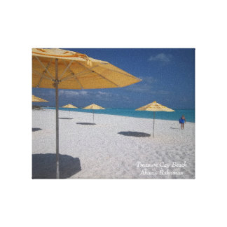 Treasure Cay Beach Canvas Photo