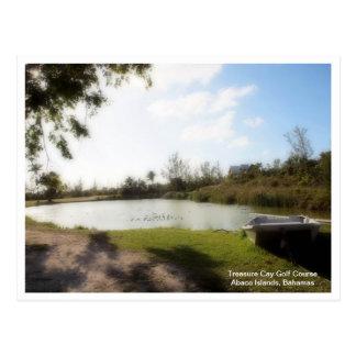 Treasure Cay Golf Course Postcard