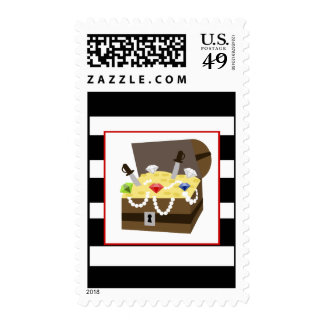 Treasure Chest Birthday Party Postage