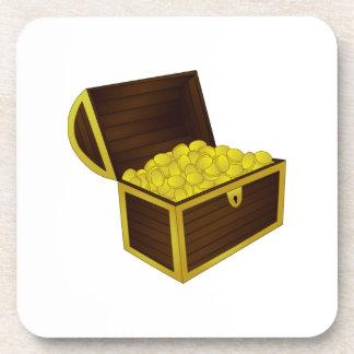 Treasure Chest Coasters
