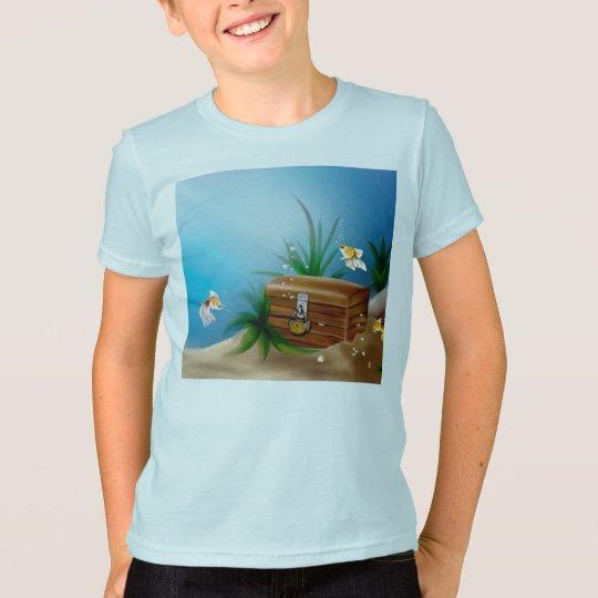 treasure chest dive swim water Destiny Gifts T-Shirt