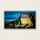 Treasure Chest of Gold on the Rocks Business Card