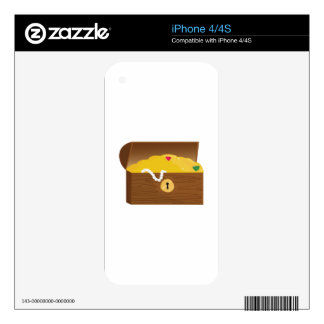 Treasure Chest Skin For iPhone 4