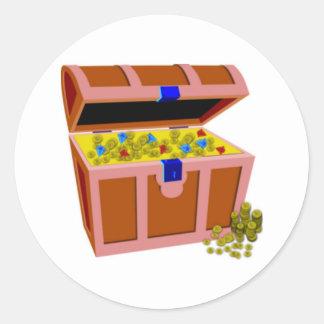 Treasure Chest Sticker