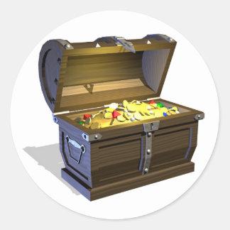 Treasure Chest Stickers