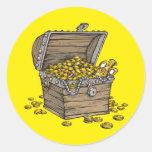 Treasure Classic Round Sticker