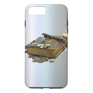 Treasure Collectors Book of Coins, Silver, Rings iPhone 7 Plus Case