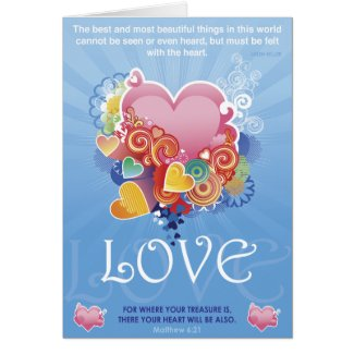 Treasure Heart card