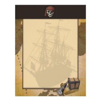 Treasure Hunt Letterhead
