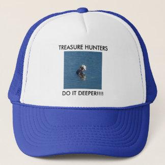 Treasure Hunters Do It Deeper Cap