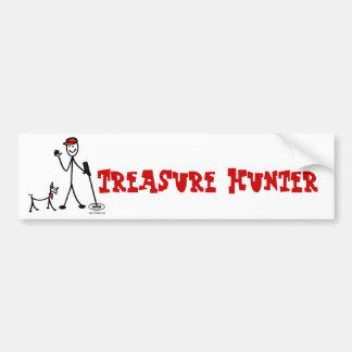 Treasure Hunting w/ Fido Bumper Sticker