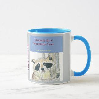 Treasure in a Mountain Cave Mug, Gray Mug